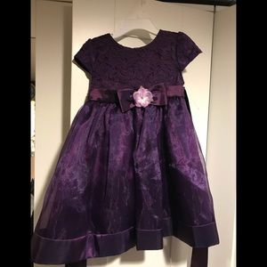 Other - Deep purple 12mo occasion dress
